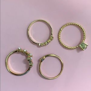 Charming Charlie's rings